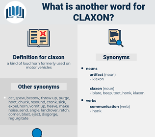 claxon, synonym claxon, another word for claxon, words like claxon, thesaurus claxon