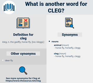 cleg, synonym cleg, another word for cleg, words like cleg, thesaurus cleg