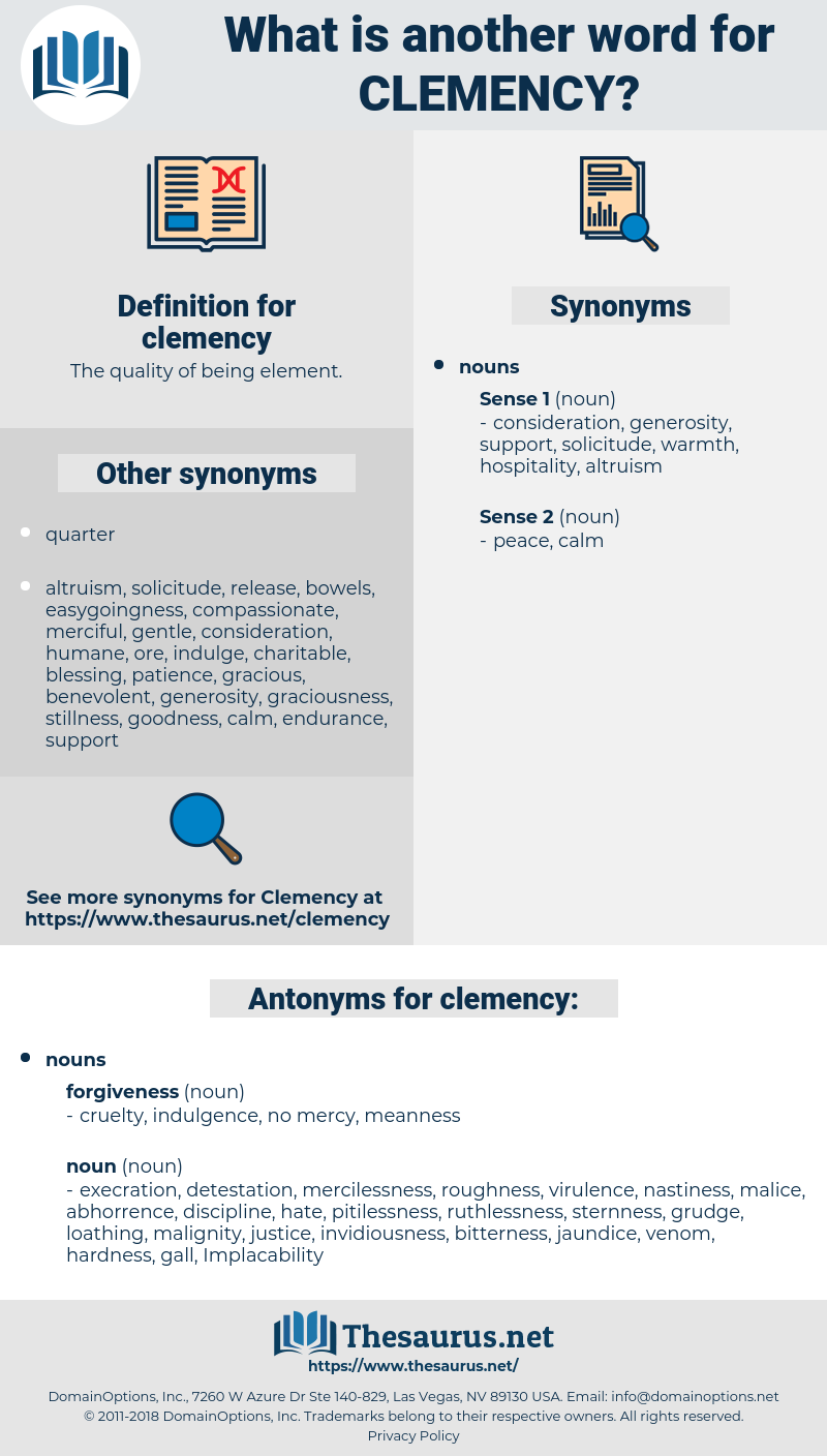 clemency, synonym clemency, another word for clemency, words like clemency, thesaurus clemency
