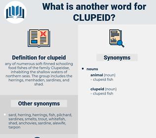 clupeid, synonym clupeid, another word for clupeid, words like clupeid, thesaurus clupeid