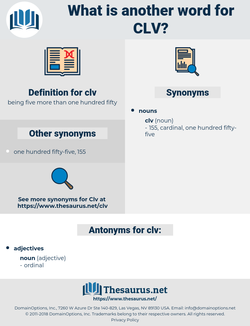 clv, synonym clv, another word for clv, words like clv, thesaurus clv