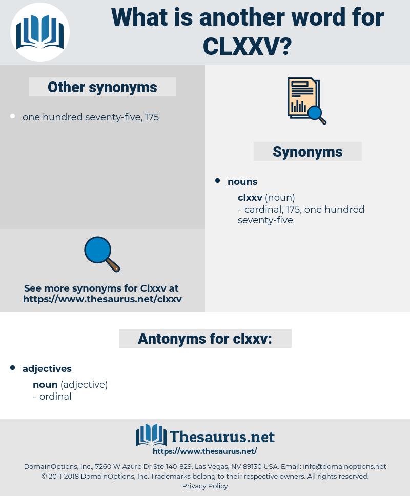clxxv, synonym clxxv, another word for clxxv, words like clxxv, thesaurus clxxv