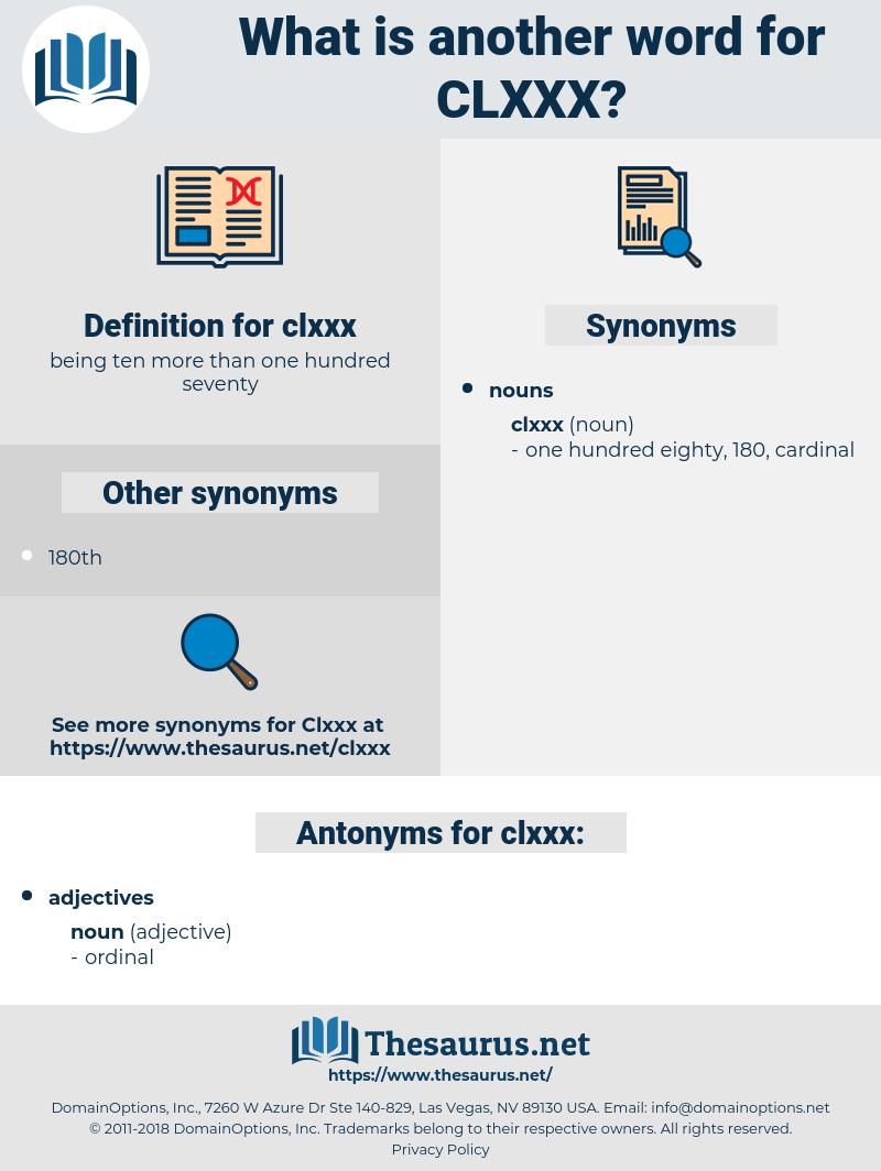 clxxx, synonym clxxx, another word for clxxx, words like clxxx, thesaurus clxxx