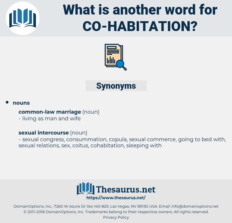 co-habitation, synonym co-habitation, another word for co-habitation, words like co-habitation, thesaurus co-habitation