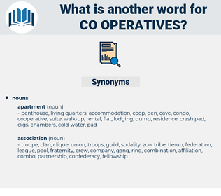 co-operatives, synonym co-operatives, another word for co-operatives, words like co-operatives, thesaurus co-operatives