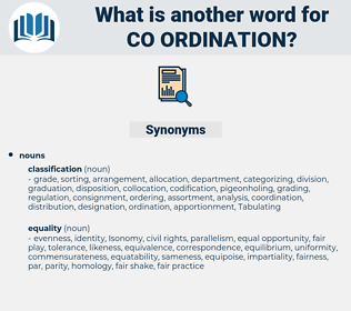 co ordination, synonym co ordination, another word for co ordination, words like co ordination, thesaurus co ordination