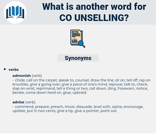 co unselling, synonym co unselling, another word for co unselling, words like co unselling, thesaurus co unselling