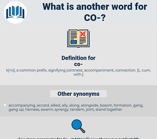 co, synonym co, another word for co, words like co, thesaurus co