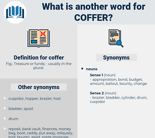 coffer, synonym coffer, another word for coffer, words like coffer, thesaurus coffer