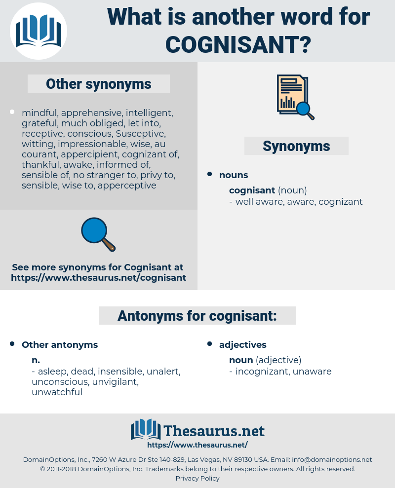 cognisant, synonym cognisant, another word for cognisant, words like cognisant, thesaurus cognisant