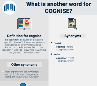 cognise, synonym cognise, another word for cognise, words like cognise, thesaurus cognise