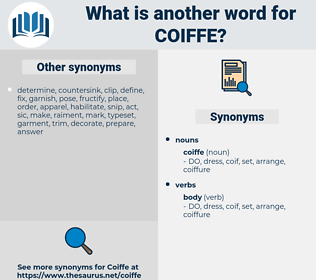 coiffe, synonym coiffe, another word for coiffe, words like coiffe, thesaurus coiffe