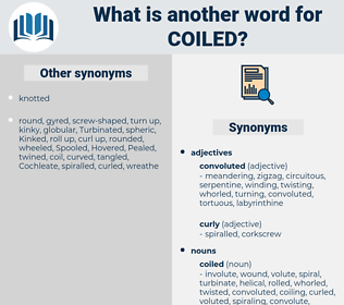 coiled, synonym coiled, another word for coiled, words like coiled, thesaurus coiled