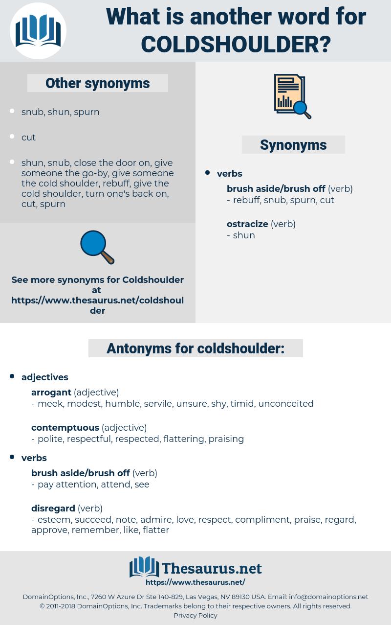 coldshoulder, synonym coldshoulder, another word for coldshoulder, words like coldshoulder, thesaurus coldshoulder