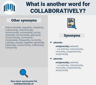 collaboratively, synonym collaboratively, another word for collaboratively, words like collaboratively, thesaurus collaboratively