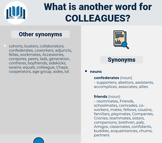 colleagues, synonym colleagues, another word for colleagues, words like colleagues, thesaurus colleagues