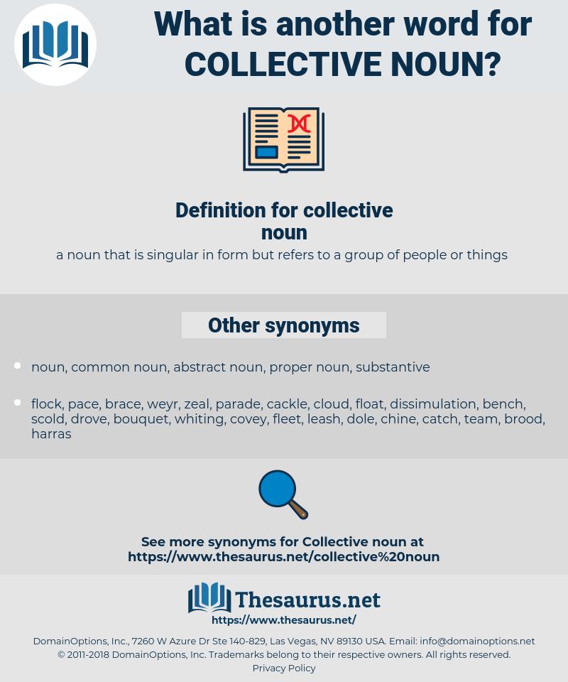 collective noun, synonym collective noun, another word for collective noun, words like collective noun, thesaurus collective noun