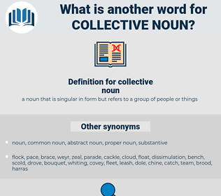 collective noun, synonym collective noun, another word for collective noun, words like collective noun, thesaurus collective noun