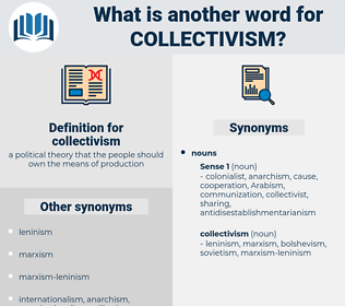 collectivism, synonym collectivism, another word for collectivism, words like collectivism, thesaurus collectivism