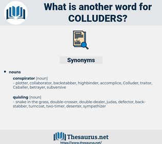 colluders, synonym colluders, another word for colluders, words like colluders, thesaurus colluders