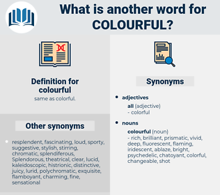 colourful, synonym colourful, another word for colourful, words like colourful, thesaurus colourful