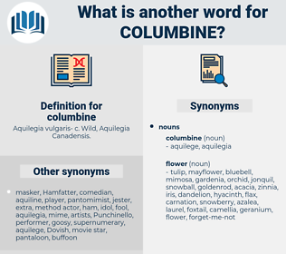 columbine, synonym columbine, another word for columbine, words like columbine, thesaurus columbine
