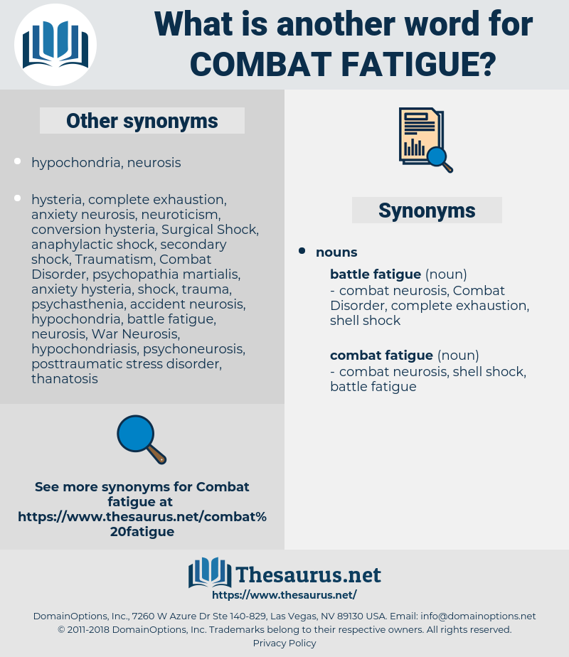 combat fatigue, synonym combat fatigue, another word for combat fatigue, words like combat fatigue, thesaurus combat fatigue