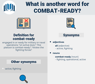 combat-ready, synonym combat-ready, another word for combat-ready, words like combat-ready, thesaurus combat-ready