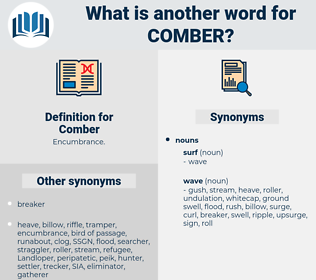 Comber, synonym Comber, another word for Comber, words like Comber, thesaurus Comber