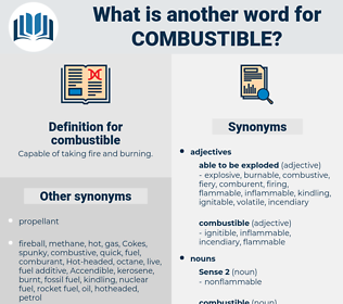 combustible, synonym combustible, another word for combustible, words like combustible, thesaurus combustible