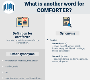 comforter, synonym comforter, another word for comforter, words like comforter, thesaurus comforter
