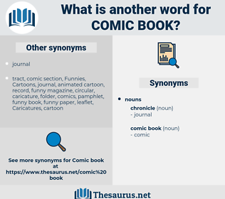 comic book, synonym comic book, another word for comic book, words like comic book, thesaurus comic book