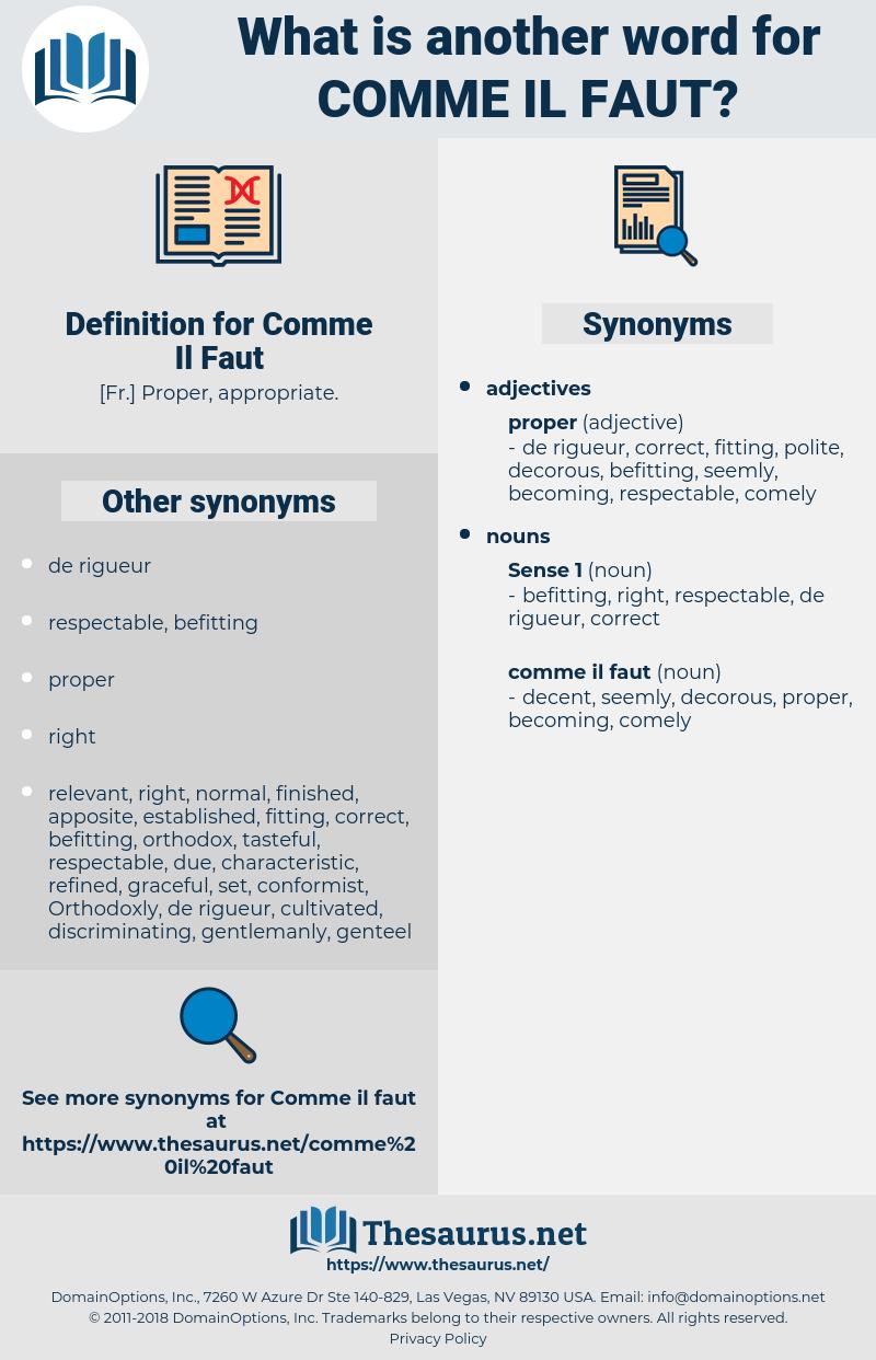 Comme Il Faut, synonym Comme Il Faut, another word for Comme Il Faut, words like Comme Il Faut, thesaurus Comme Il Faut