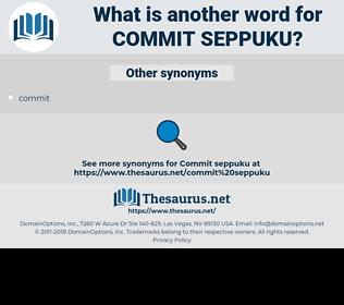 commit seppuku, synonym commit seppuku, another word for commit seppuku, words like commit seppuku, thesaurus commit seppuku