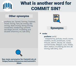 commit sin, synonym commit sin, another word for commit sin, words like commit sin, thesaurus commit sin
