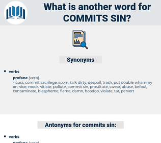 commits sin, synonym commits sin, another word for commits sin, words like commits sin, thesaurus commits sin