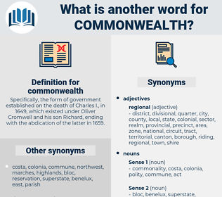 commonwealth, synonym commonwealth, another word for commonwealth, words like commonwealth, thesaurus commonwealth