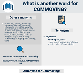 Commoving, synonym Commoving, another word for Commoving, words like Commoving, thesaurus Commoving