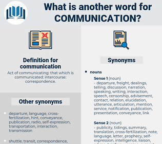 communication, synonym communication, another word for communication, words like communication, thesaurus communication