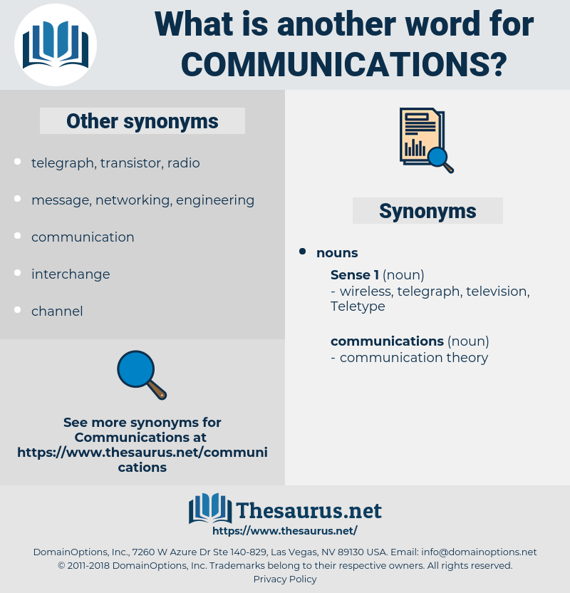 communications, synonym communications, another word for communications, words like communications, thesaurus communications
