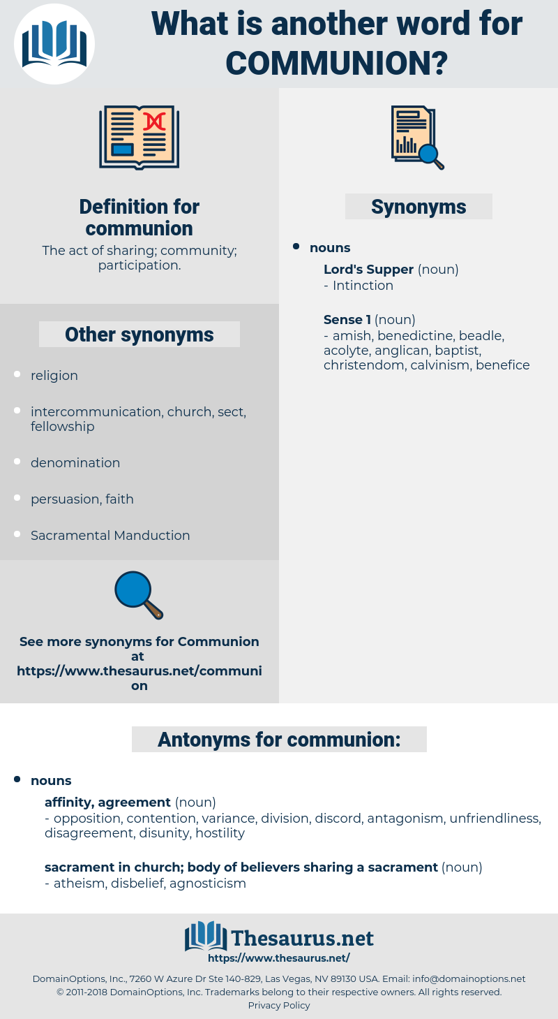 communion, synonym communion, another word for communion, words like communion, thesaurus communion