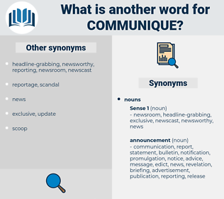 communique, synonym communique, another word for communique, words like communique, thesaurus communique