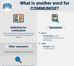 communise, synonym communise, another word for communise, words like communise, thesaurus communise