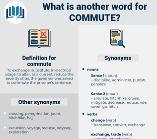 commute, synonym commute, another word for commute, words like commute, thesaurus commute