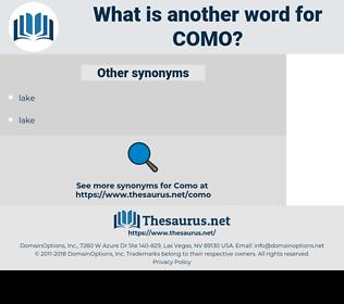 Como, synonym Como, another word for Como, words like Como, thesaurus Como