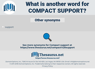 compact support, synonym compact support, another word for compact support, words like compact support, thesaurus compact support