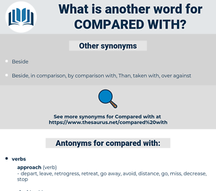 compared with, synonym compared with, another word for compared with, words like compared with, thesaurus compared with