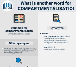 compartmentalisation, synonym compartmentalisation, another word for compartmentalisation, words like compartmentalisation, thesaurus compartmentalisation