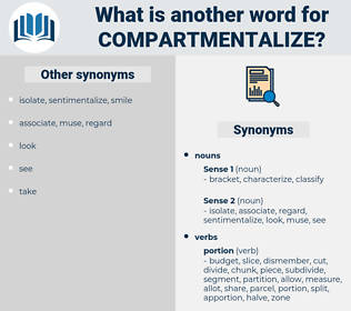 compartmentalize, synonym compartmentalize, another word for compartmentalize, words like compartmentalize, thesaurus compartmentalize