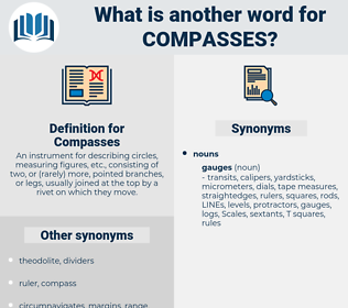Compasses, synonym Compasses, another word for Compasses, words like Compasses, thesaurus Compasses